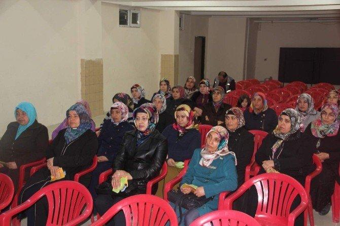 Kadın Danışma Merkezinden Öğrenci Ve Velilere Seminer