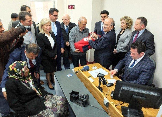 Çipli Kimlikler İçin Başvurular Kırıkkale'de Başladı