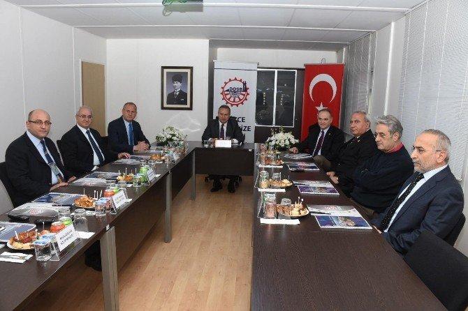 Düzce OSB Yönetim Kurulu Toplandı
