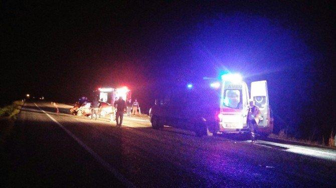 Manisa'da Feci Kaza: 3 Ölü, 7 Yaralı (1)