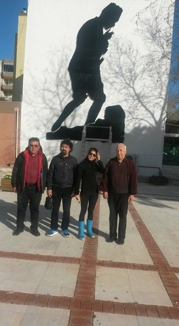 Silifke'de Atatürk Silueti Beğeni Topluyor