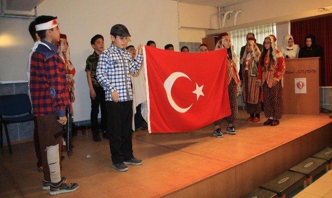Sorgun'da Mehmet Akif Ersoy Anıldı