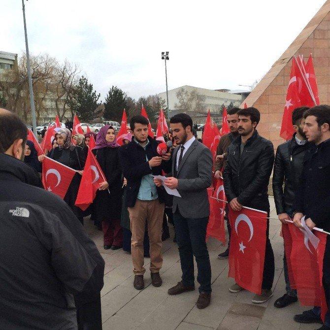 Atatürk Üniversitesi'nde Terör Saldırısı Kınandı