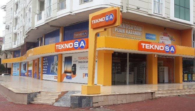 Teknosa'dan Aydın'a 7. Mağaza