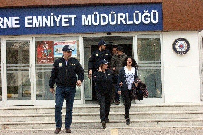 Edirne'de Terör Operasyonu: 4 Gözaltı