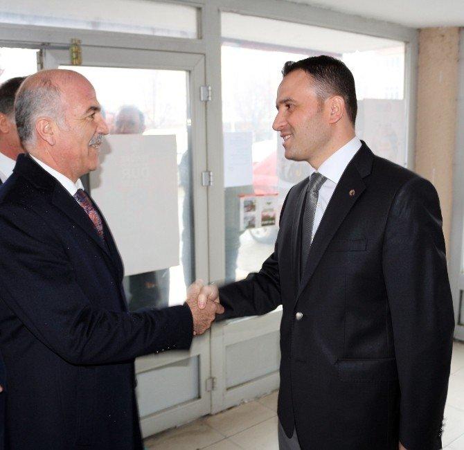 AK Partili Gökçe'den Muhtarlara Ziyaret