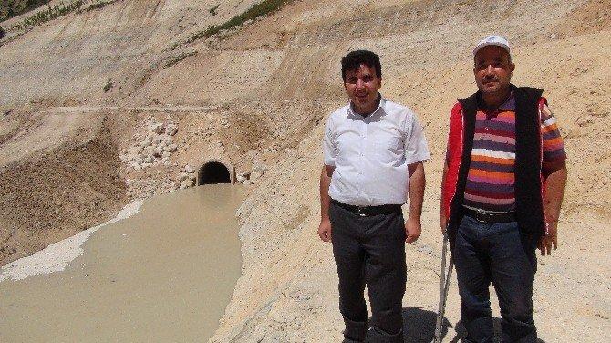 Aksıfat Barajı'nda Fiziki Gerçekleşme Yüzde 62'ye Ulaştı