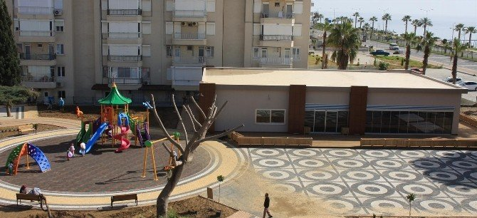 Alanya Mahmutlar'a Yeni Park Ve Sosyal Alan