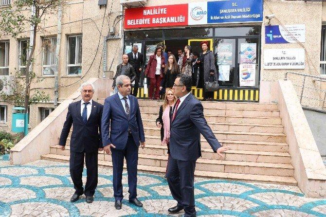 Altındağ Heyetinden Haliliye Belediyesine Ziyaret