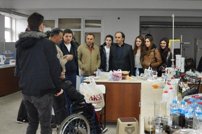 Lise Öğrencileri Bartın Üniversitesi'ni Gezdi