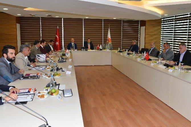 Antalya OSB Aylık Olağan Müteşebbis Heyeti Toplantısı