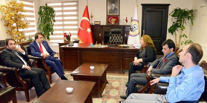 Milletvekili Aydemir Baroyu Ziyaret Etti