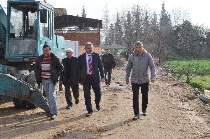 Başkan Alıcık, Arslanlı Mahallesini Ziyaret Etti