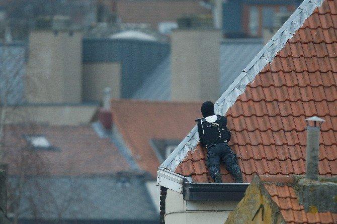 Brüksel'de Terör Operasyonu: 3 Polis Yaralı
