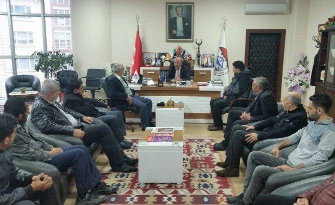 Bayır-bucak Türkmenlerinden Söğüt'e Ziyaret