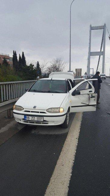 Boğaz Köprüsü'nde Şüpheli Araç Paniği Sona Erdi