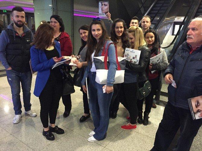 Devrek Mesleki Eğitim Öğrencileri Güzellik Bakım Fuarına Gitti