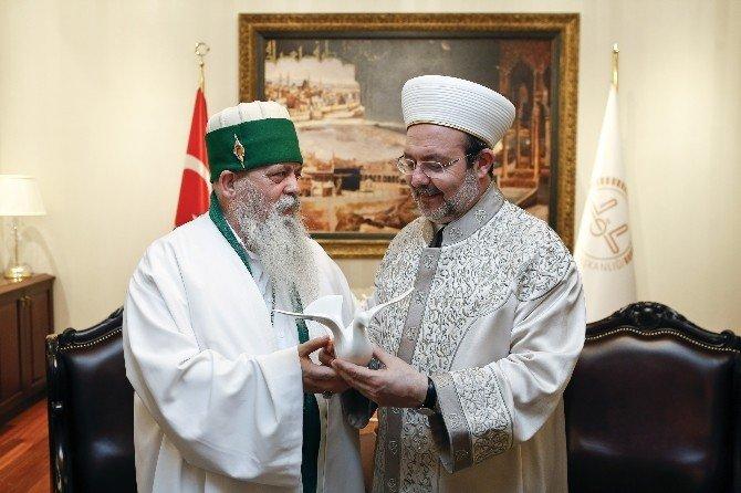 """Diyanet İşleri Başkanı Görmez: """"Milletimizin Bütün Fertlerini Camilerde Dualarımızı Birleştirmeye Çağırıyorum"""""""