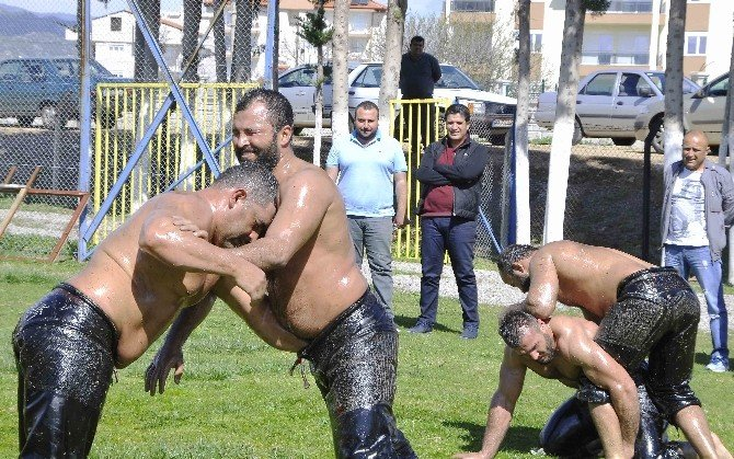 Döşemealtı'nın Güreşçileri Tempo Arttırdı