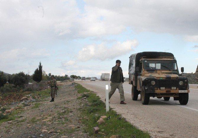 Hatay'da Askeri Araca Saldırı