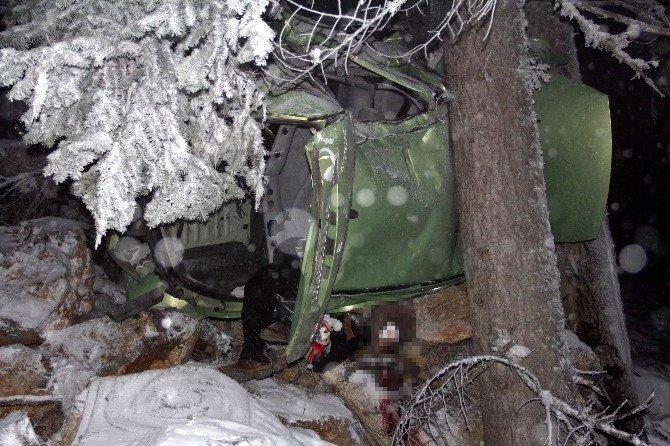 Cenaze Yolunda Feci Kaza: 2 Ölü, 2 Yaralı