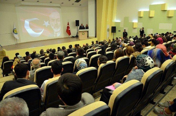 Şanlıurfa'da İstiklal Marşı'nın Kabulünün Yıl Dönümü Etkinliği