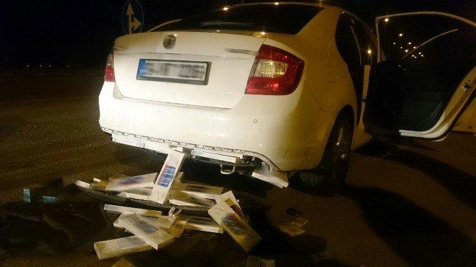 Erzincan'da 10 Bin 99 Paket Kaçak Sigara Ele Geçirildi