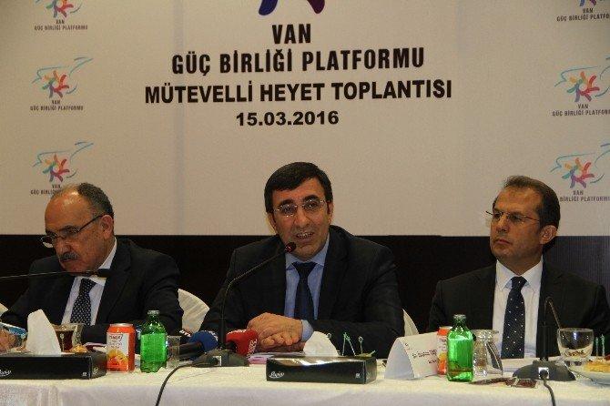 """Kalkınma Bakanı Yılmaz: """"En Büyük Teşvik, Bölgenin Huzur Ve Güven Ortamıdır"""""""