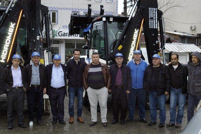 Karaidemir Sulama Kooperatifi Ekip Filosunu Genişletti