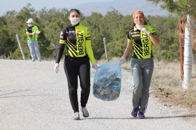 Karaman'da Çevre Temizliği Ve Sağlıklı Yaşam Etkinliği Düzenlendi