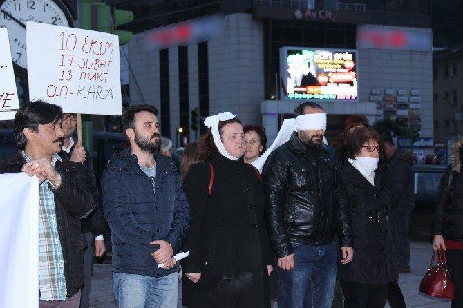 Tiyatroculardan Ankara Saldırısına Sessiz Tepki