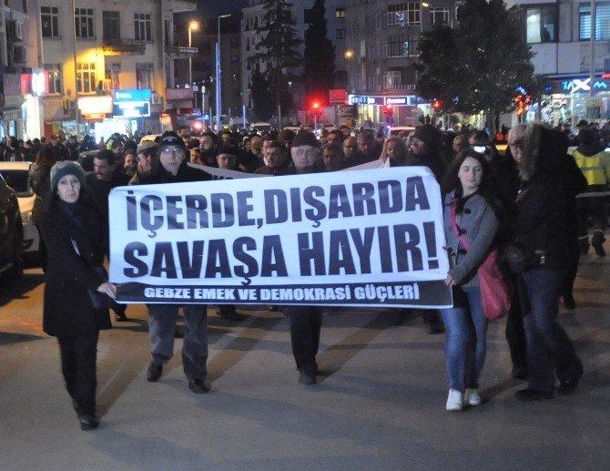 Ankara'daki Terör Saldırısı Gebze'de Kınandı