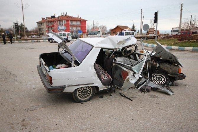 Konya'da Zincirleme Kaza: 1 Ölü, 3 Yaralı