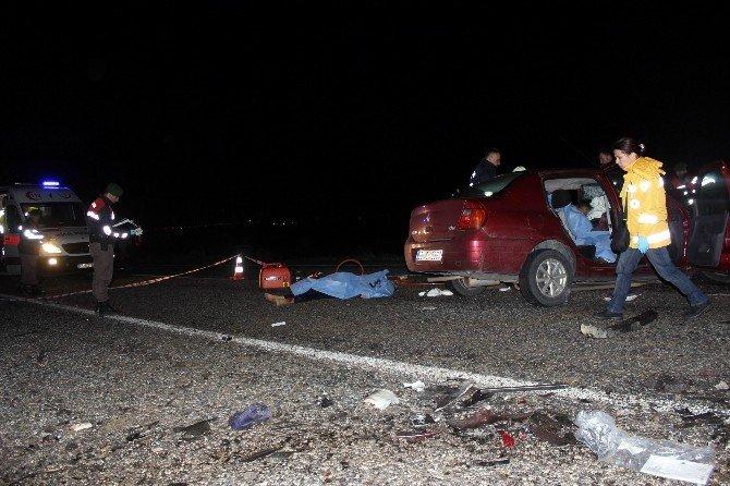 Salihli'de Katliam Gibi Kaza:3 Ölü 7 Yaralı