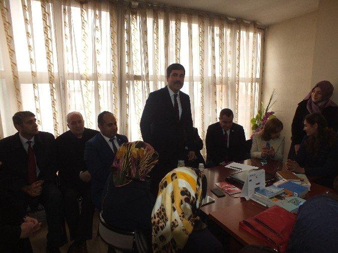 AK Parti Muş Milletvekili Şimşek Malazgirt'te