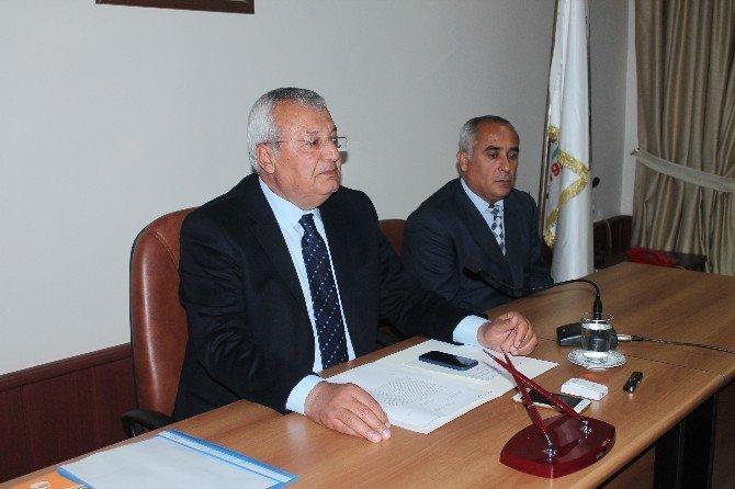 Düziçi Belediyesi Nema Ödemeleri İçin Toplantı Yaptı