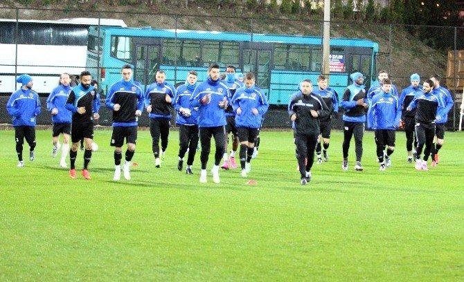 KARDEMİR Karabükspor'da Samsunspor Maçı Hazırlıkları Sürüyor