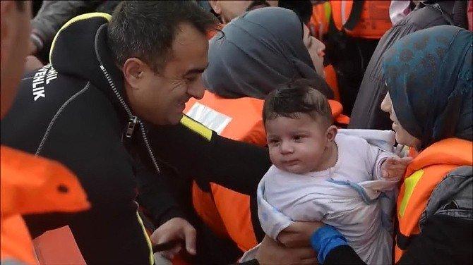 Sahil Güvenlik'ten Mültecilerin Avrupa Yolculuğunu Anlatan Kısa Film