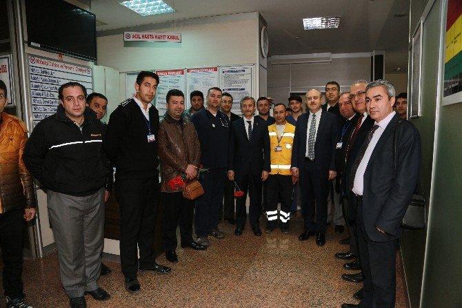 Tahmazoğlu, Tıp Bayramı'nı Kutladı