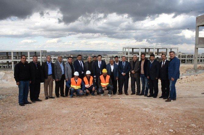 Şanlıurfa Valisi Sanayi Esnafını Ziyaret Etti