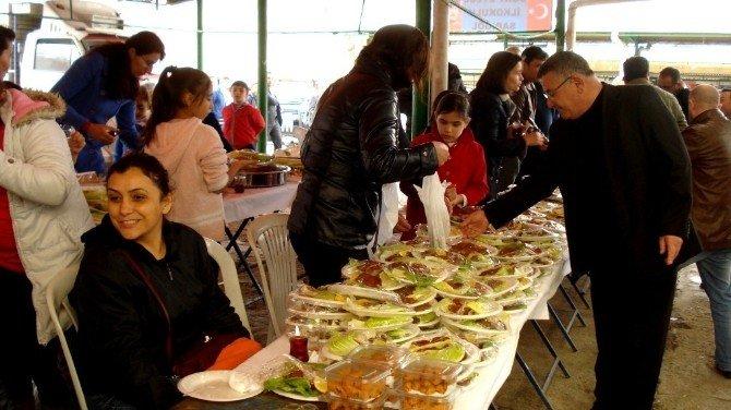 Sarıgöl 4 Eylül İlkokulunda Gıda Kermesi