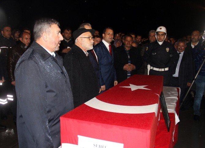 Şehit Polis Alagöz'ün Cenazesi Iğdır'a Getirildi