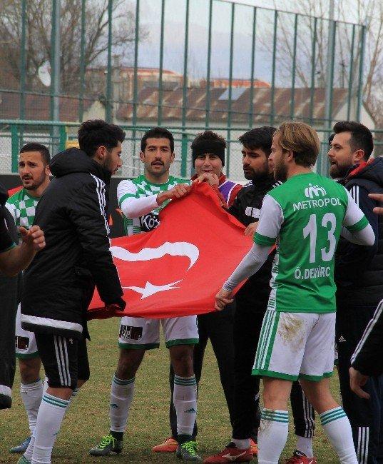 Sivas Belediyespor, Amedspor Maçı Sonrası Bayrak Krizi