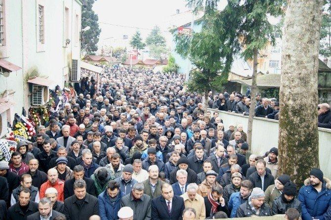 Eynesil Belediye Başkanı Somuncuoğlu'nun Acı Günü