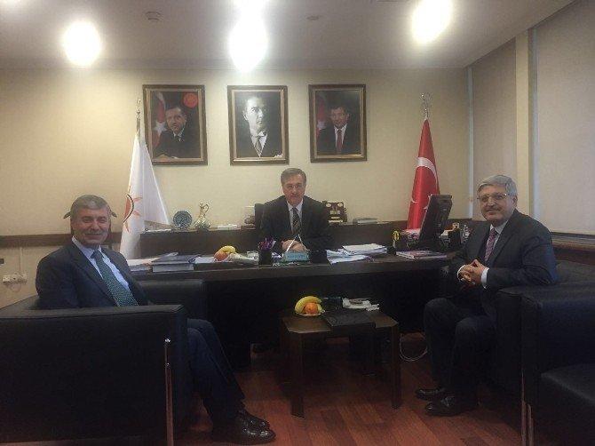Milletvekili Demiröz Ve Başkan Aksoy'dan İBB'ye Ziyaret