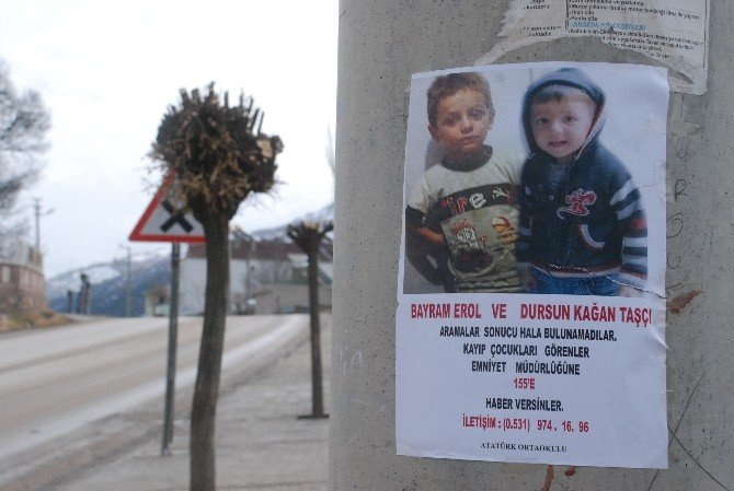 Kayıp İki Çocuğun Yerini İhbar Edene 100 Bin TL Para Ödülü