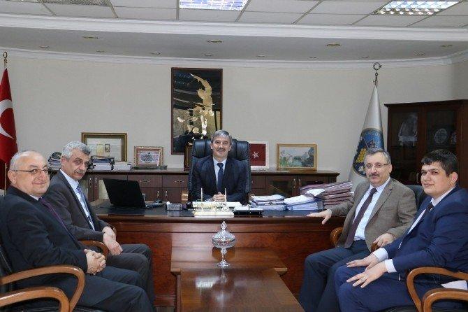 Başkan Şirin İle Turgutlu'nun Projeleri Konuşuldu