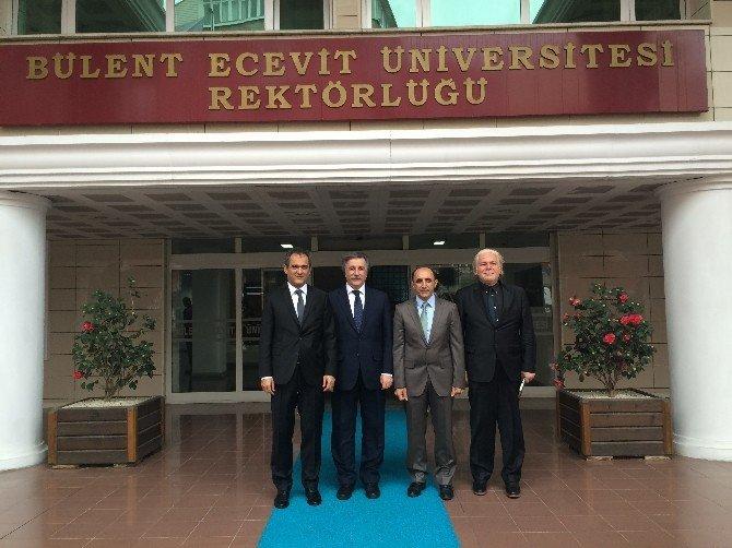 Türkiye Bilimler Akademisi Üyesi Ve Türkiye Sağlık Enstitüleri Başkanı Prof. Dr. H. Fahrettin Keleştemur BEÜ'ye Ziyaret Gerçekleştirdi