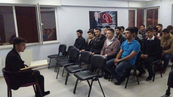 Ülkü Ocakları Ankara Saldırısında Ölenler İçin Mevlit Okuttu