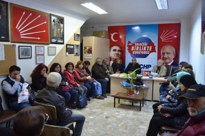 Ayvalık'ta CHP'den Teröre Sert Tepki